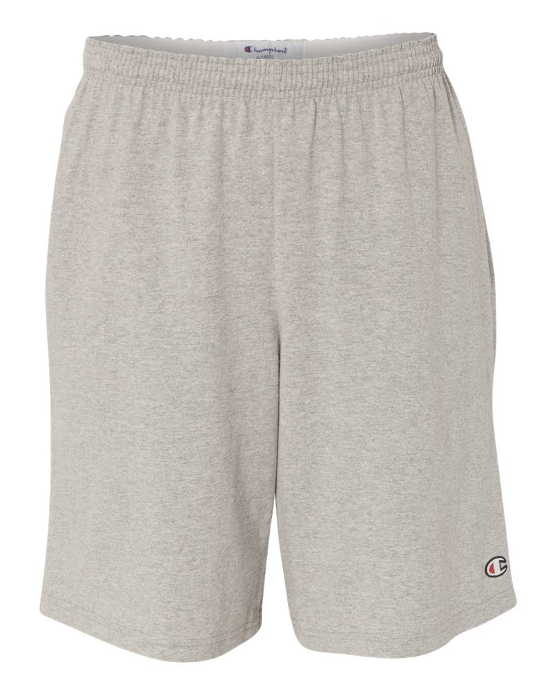 "Cotton Jersey 9"" Shorts with Pockets-Champion-Pacific Brandwear"