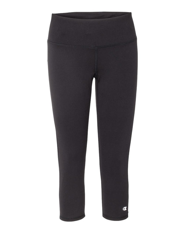 Women's Everyday Performance Capri Leggings-Champion-Pacific Brandwear