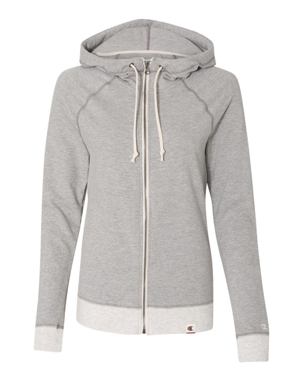 Originals Women's French Terry Hooded Full-Zip-Champion-Pacific Brandwear