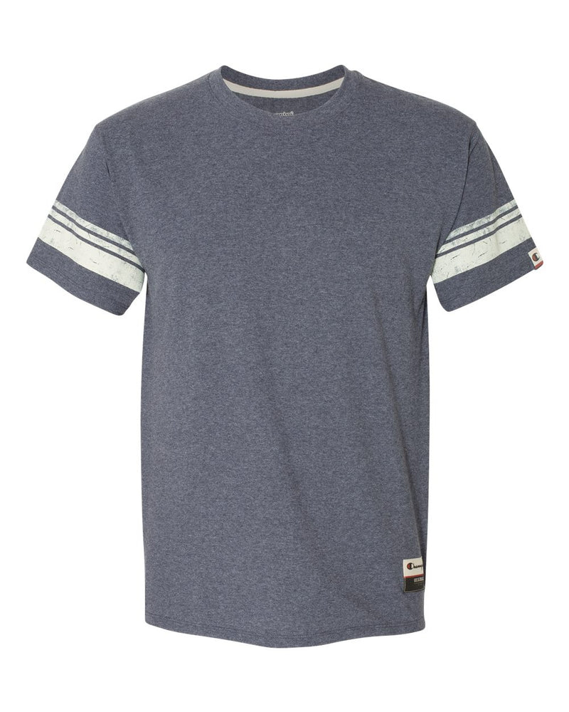 Originals Triblend Varsity Tee-Champion-Pacific Brandwear