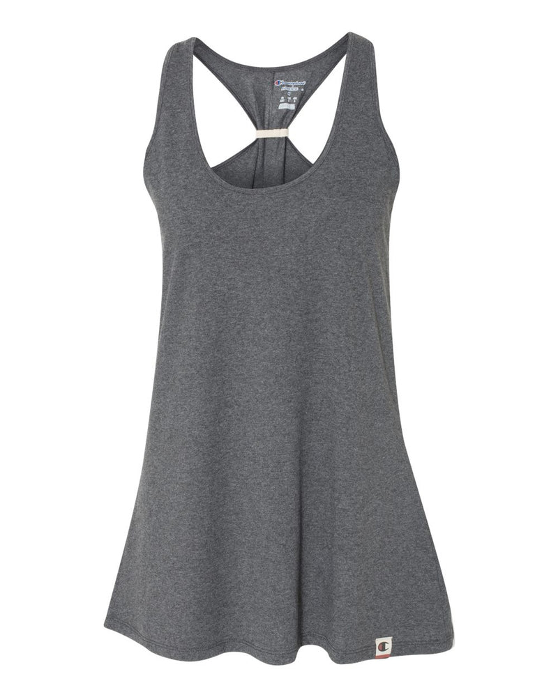 Originals Women's Triblend Jersey Swing Tank-Champion-Pacific Brandwear