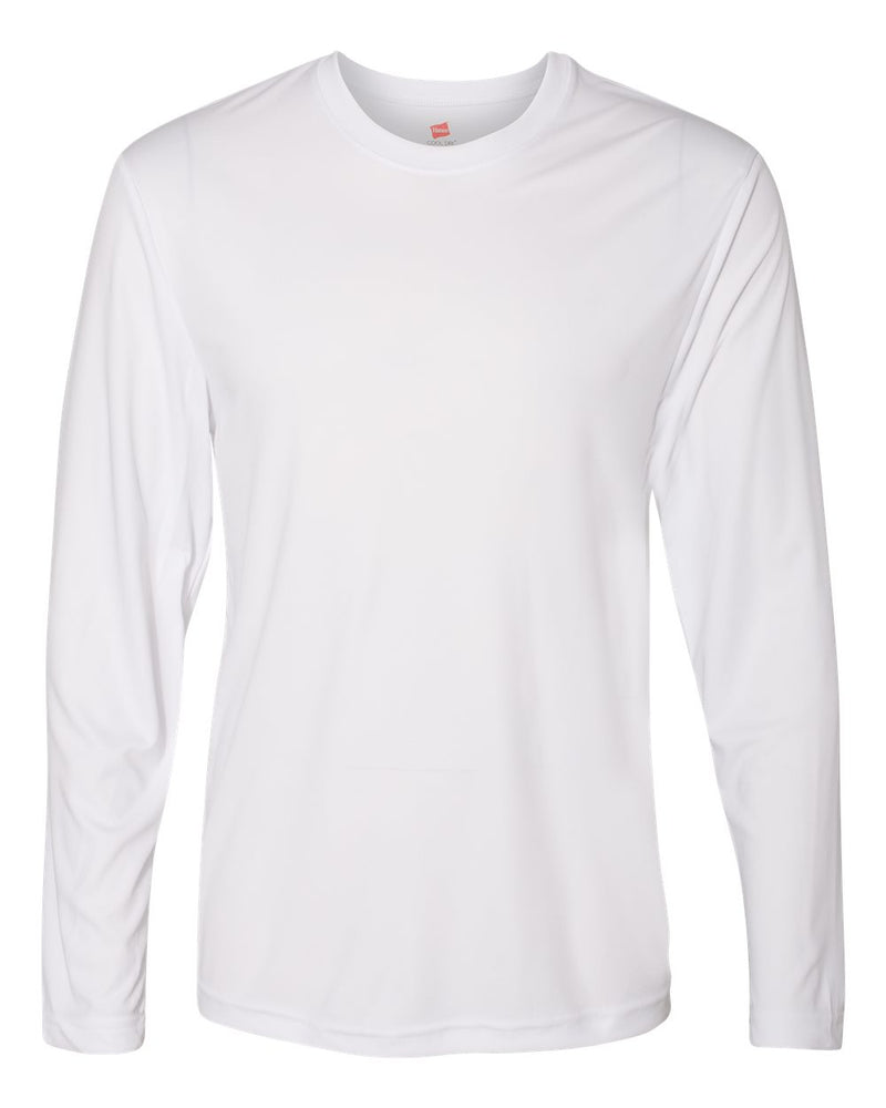 Cool Dri Long sleeve Performance T-Shirt-Hanes-Pacific Brandwear