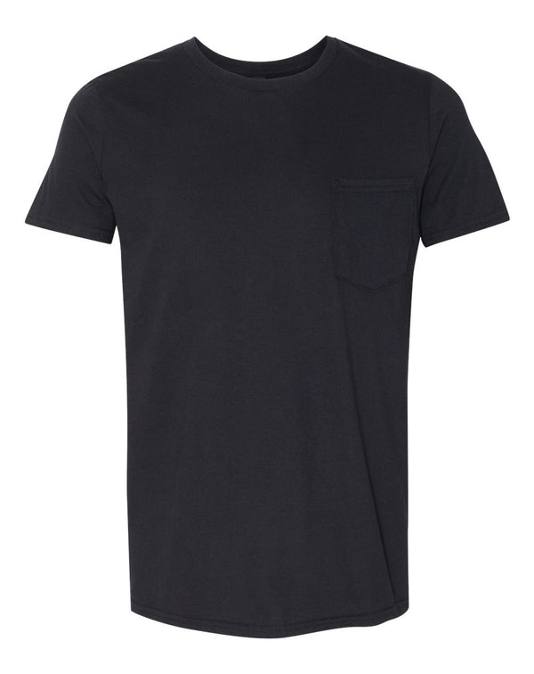 Lightweight Pocket T-Shirt-Anvil-Pacific Brandwear