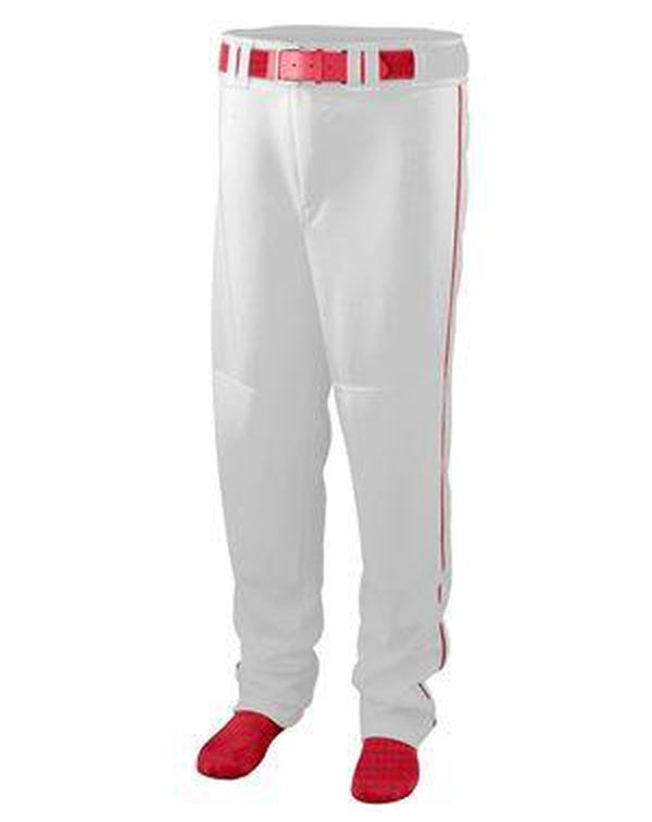 Youth Series Baseball/Softball Pants with Piping-Augusta Sportswear-Pacific Brandwear