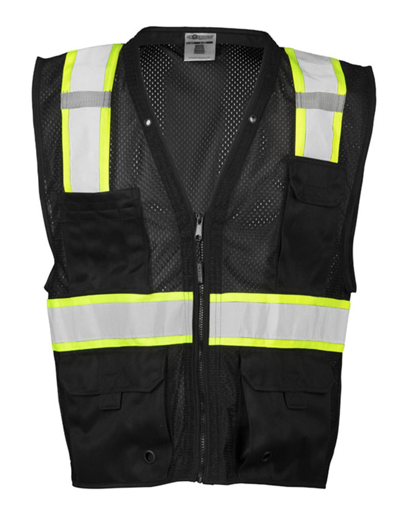 Mesh Enhanced Visibility Multi-Pocket Vest-ML Kishigo-Pacific Brandwear