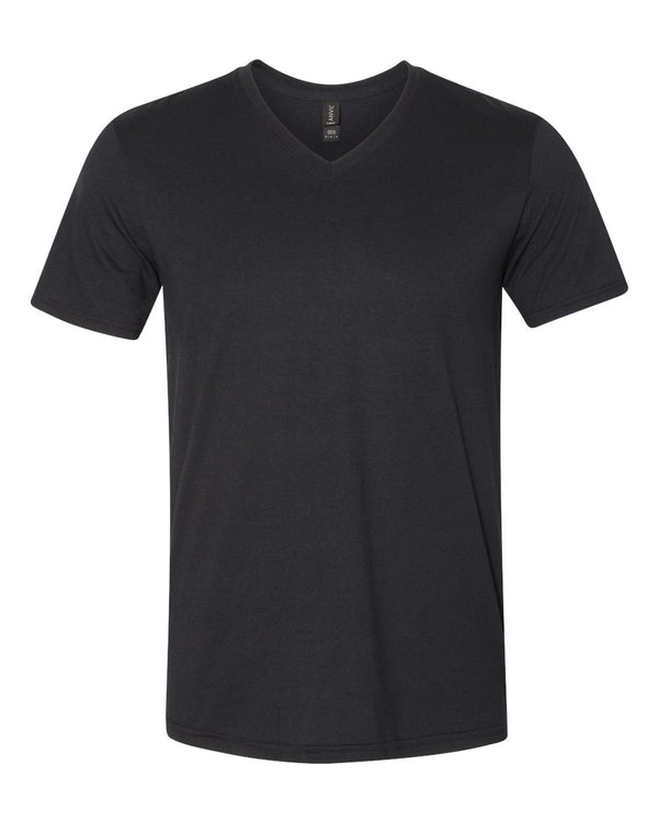 Triblend V-Neck T-Shirt-Anvil-Pacific Brandwear