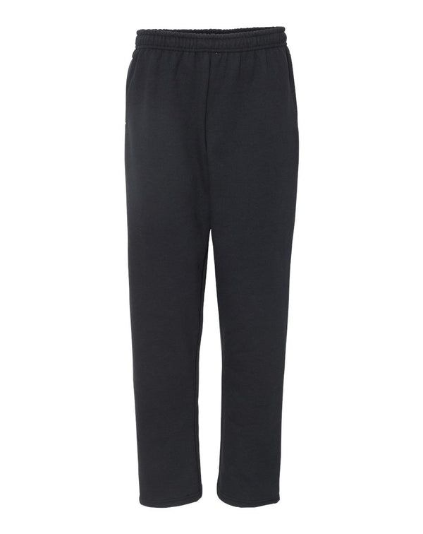 Heavy Blend Open-Bottom Sweatpants with Pockets-Gildan-Pacific Brandwear