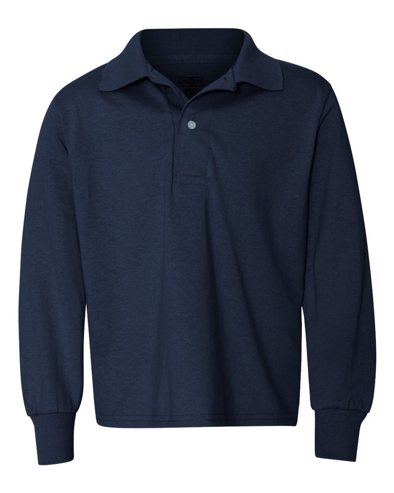SpotShield Youth Long sleeve Sport Shirt-JERZEES-Pacific Brandwear