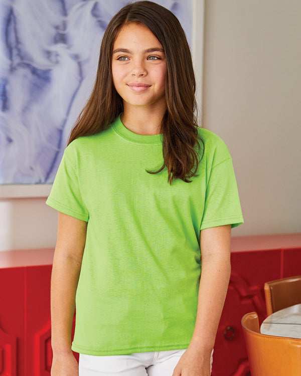Ecosmart Youth Short sleeve T-Shirt-Hanes-Pacific Brandwear