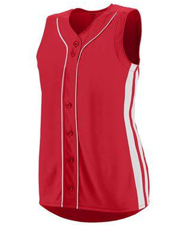 Girls' Sleeveless Winner Jersey-Augusta Sportswear-Pacific Brandwear
