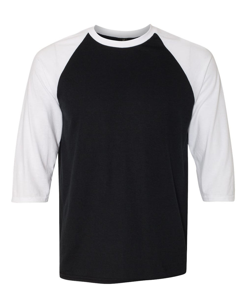 Triblend Raglan Three-Quarter sleeve T-Shirt-Anvil-Pacific Brandwear