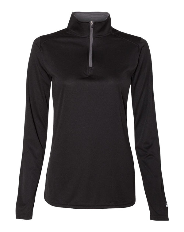 Women's B-Core Quarter-Zip Pullover-Badger-Pacific Brandwear