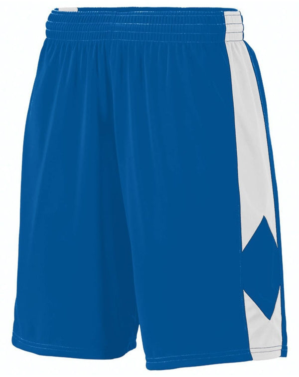 Youth Block Out Shorts-Augusta Sportswear-Pacific Brandwear
