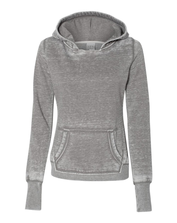Women's Zen Fleece Hooded Sweatshirt-J. America-Pacific Brandwear