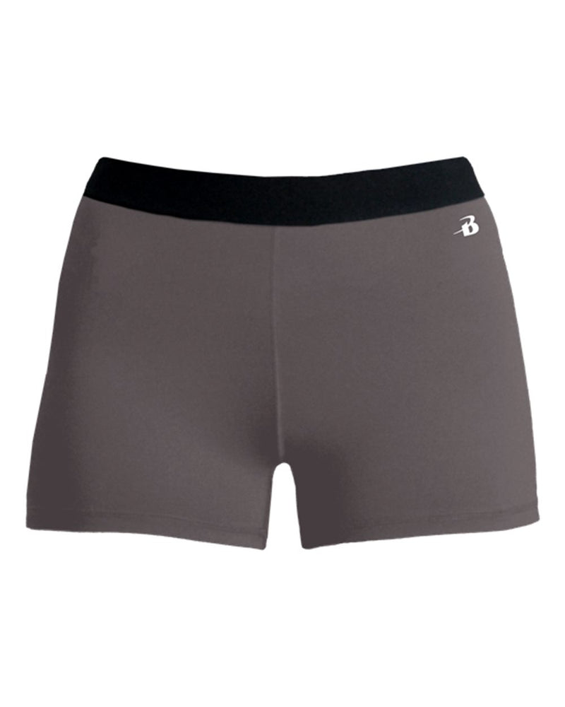 Girls' Pro-Compression Shorts-Badger-Pacific Brandwear