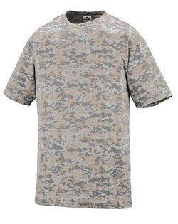 Youth Digi Camo Wicking T-Shirt-Augusta Sportswear-Pacific Brandwear