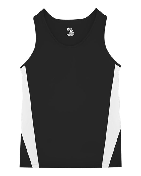 Stride Singlet-Badger-Pacific Brandwear