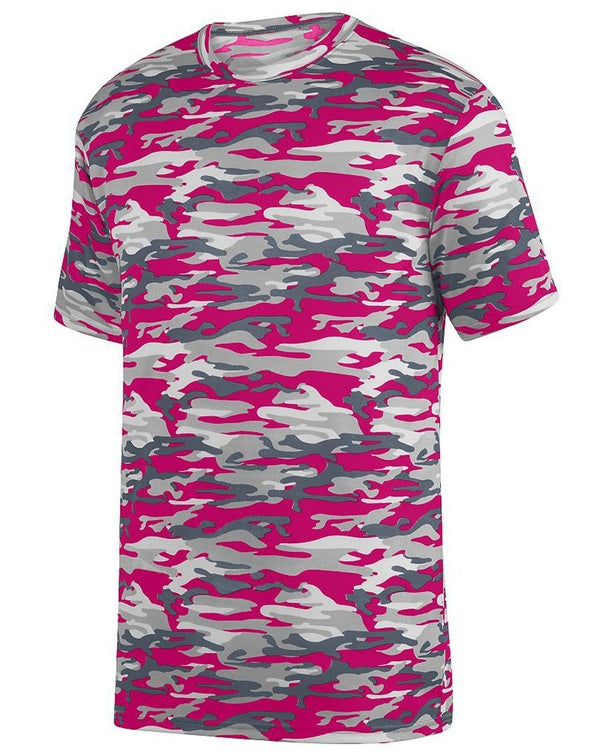 Youth Mod Camo Wicking T-Shirt-Augusta Sportswear-Pacific Brandwear