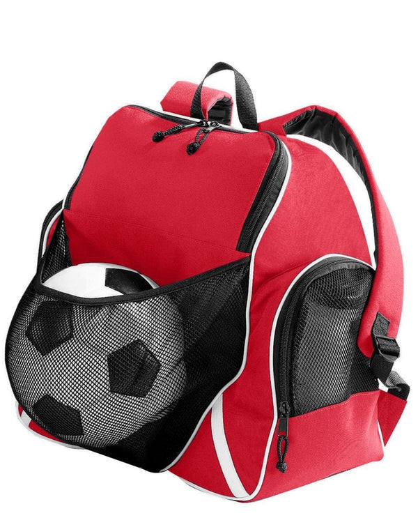 Tri-Color Ball Backpack-Augusta Sportswear-Pacific Brandwear