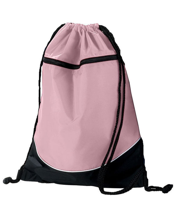 Tri-Color Drawstring Backpack-Augusta Sportswear-Pacific Brandwear