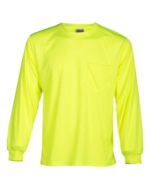 Microfiber Polyester Long sleeve T-Shirt-ML Kishigo-Pacific Brandwear