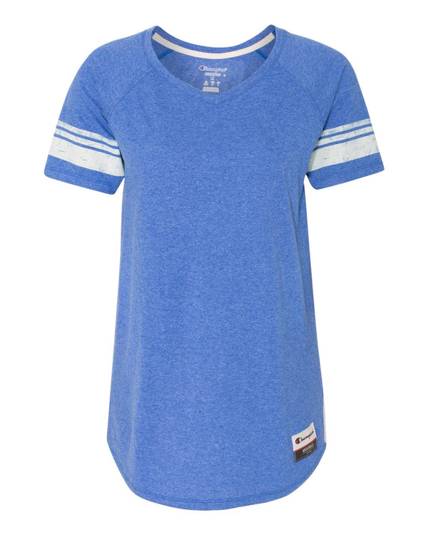 Women's Originals Triblend Varsity Tee-Champion-Pacific Brandwear