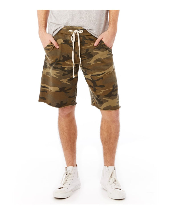 Victory French Terry Shorts-Alternative Apparel-Pacific Brandwear