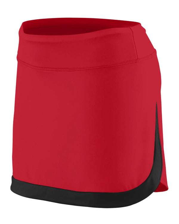 Girls' Action Color Block Skort-Augusta Sportswear-Pacific Brandwear