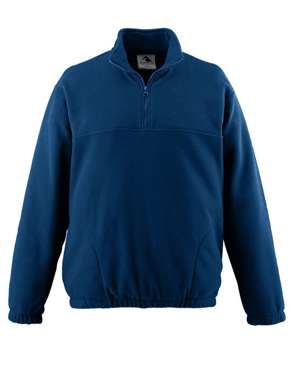 Youth Chill Fleece Half-Zip Pullover-Augusta Sportswear-Pacific Brandwear