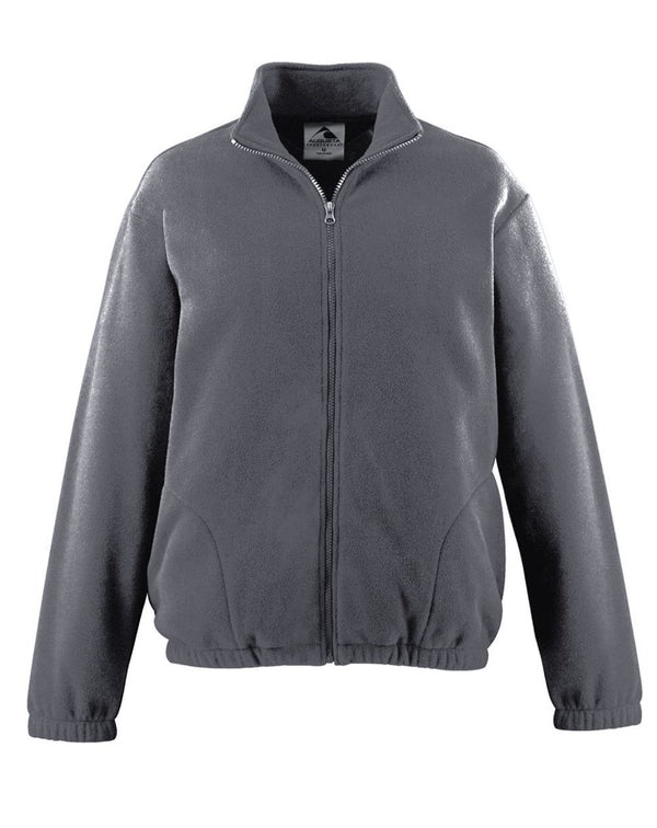 Youth Chill Fleece Full-Zip Jacket-Augusta Sportswear-Pacific Brandwear
