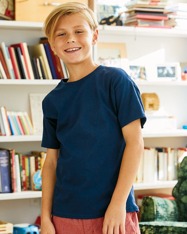 ComfortSoft Youth T-Shirt-Hanes-Pacific Brandwear
