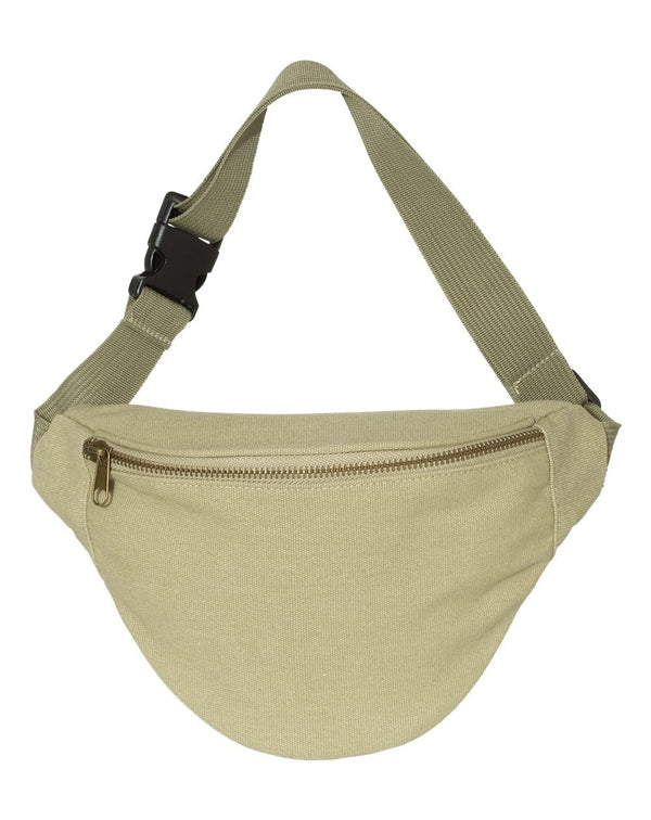 Garment-Dyed Canvas Belt Bag-Comfort Colors-Pacific Brandwear