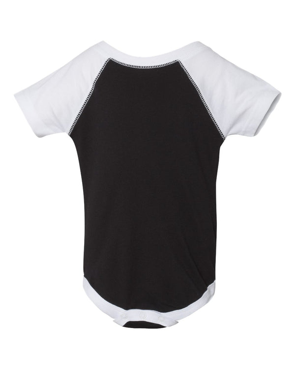 Infant Baseball Fine Jersey Bodysuit-Rabbit Skins-Pacific Brandwear