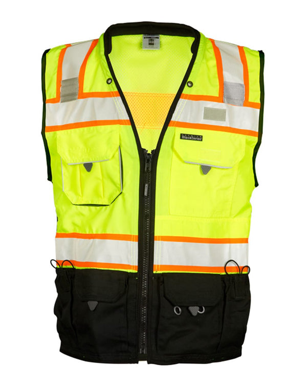Premium Black Series Surveyors Vest-ML Kishigo-Pacific Brandwear
