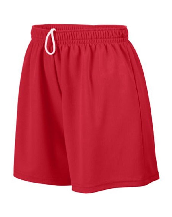 Girls' Wicking Mesh Shorts-Augusta Sportswear-Pacific Brandwear