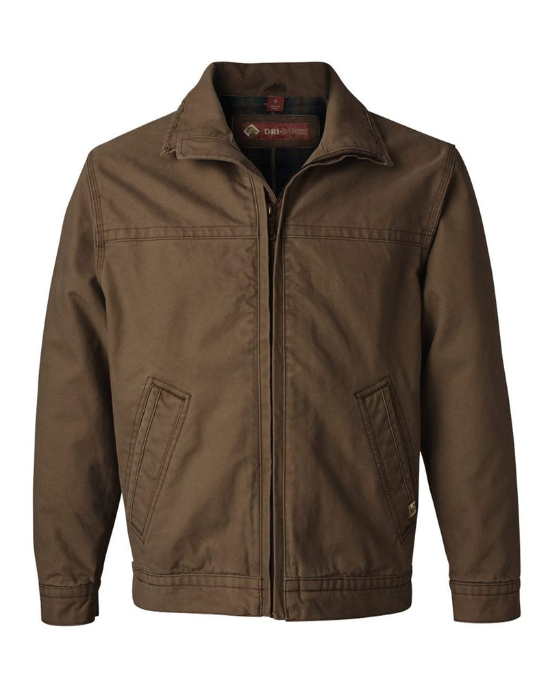 Maverick Boulder Cloth Jacket with Blanket Lining Tall Sizes-DRI DUCK-Pacific Brandwear