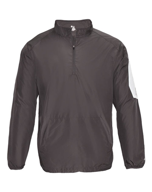 Sideline Long sleeve Pullover-Badger-Pacific Brandwear