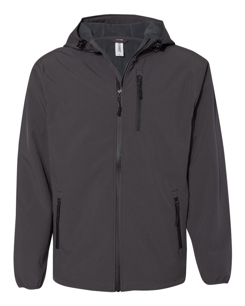 Poly-Tech Soft Shell Jacket-Independent Trading Co.-Pacific Brandwear