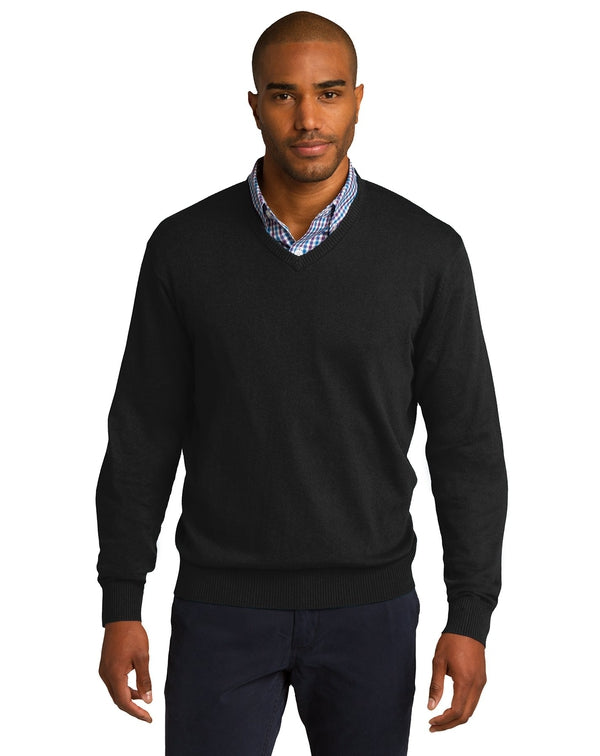 Port Authority® V-Neck Sweater-Port Authority-Pacific Brandwear