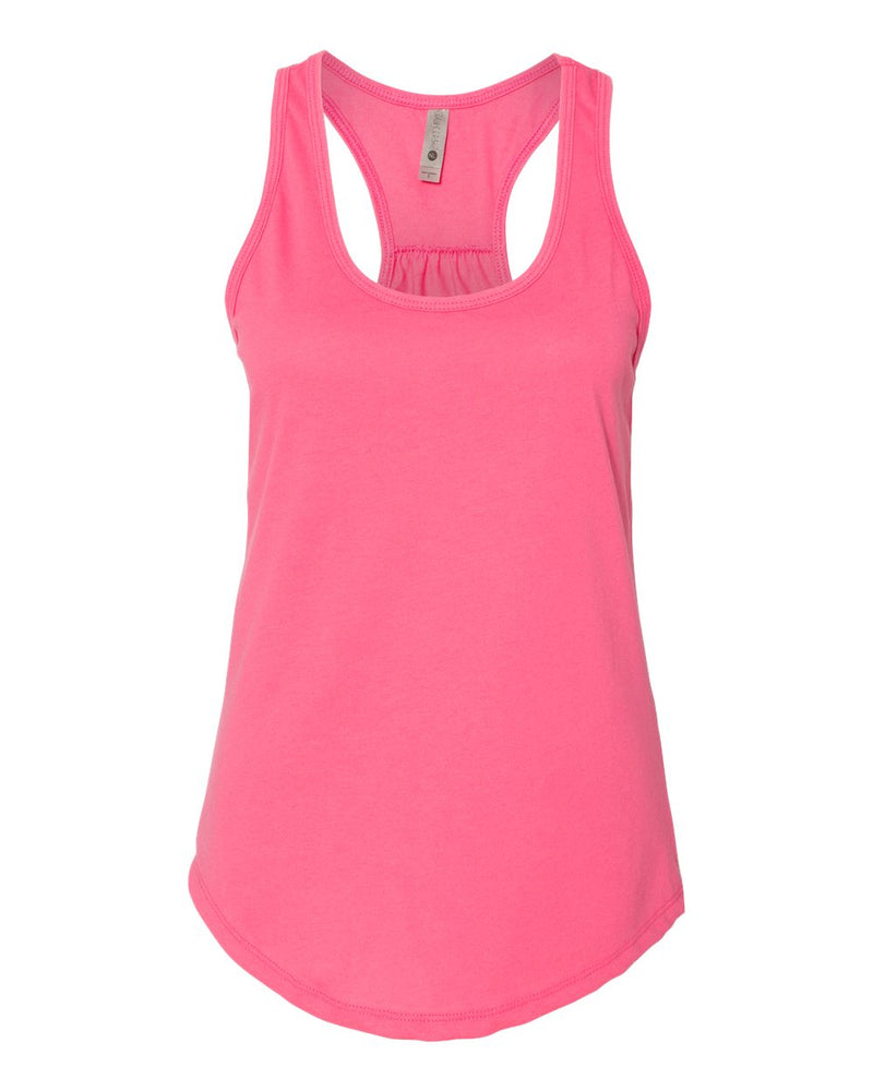 Women's Gathered Racerback Tank-Next Level-Pacific Brandwear