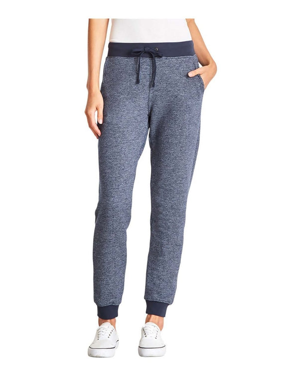 Women's Denim Fleece Joggers-Next Level-Pacific Brandwear