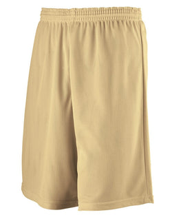 Longer Length Mini Mesh League Shorts-Augusta Sportswear-Pacific Brandwear