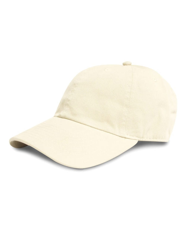 Curved Bill Brushed Twill Hat-Hall of Fame-Pacific Brandwear