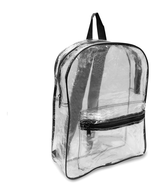 Clear PVC Backpack-Liberty Bags-Pacific Brandwear