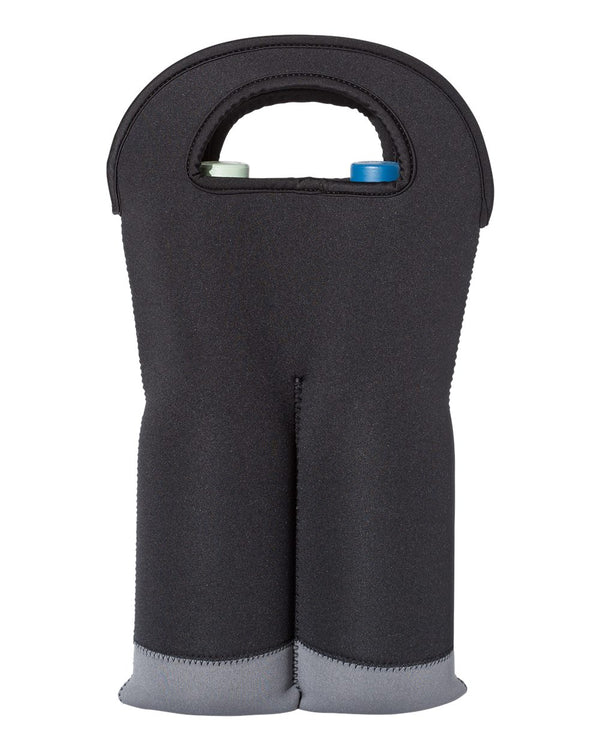 Insulated Neoprene Double Wine Tote-OAD-Pacific Brandwear