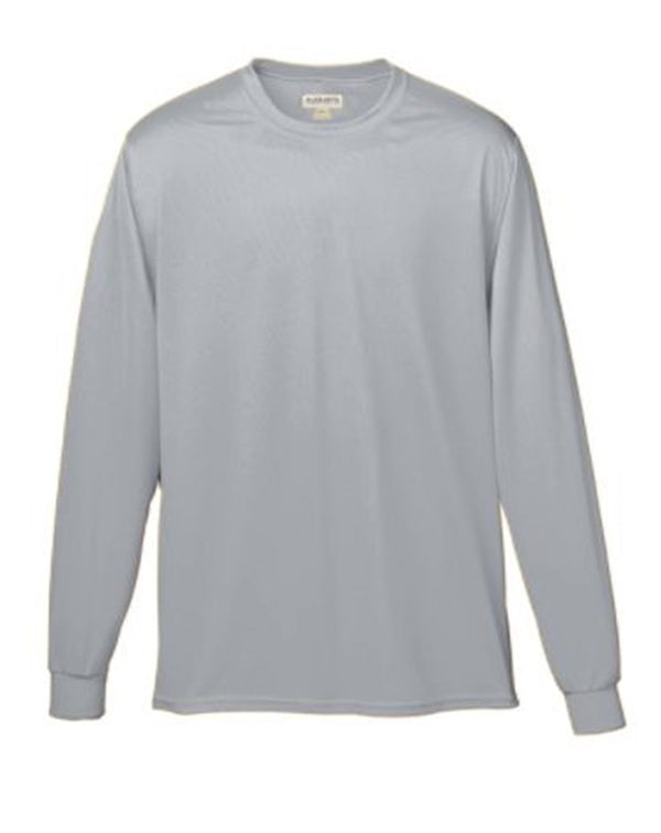 Youth Wicking Long sleeve T-Shirt-Augusta Sportswear-Pacific Brandwear