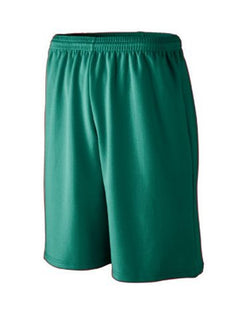Longer Length Wicking Mesh Athletic Shorts-Augusta Sportswear-Pacific Brandwear