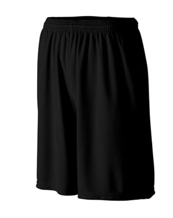 Longer Length Wicking Shorts with Pockets-Augusta Sportswear-Pacific Brandwear