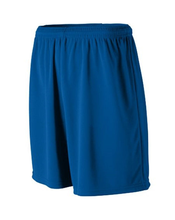 Youth Wicking Mesh Athletic Shorts-Augusta Sportswear-Pacific Brandwear
