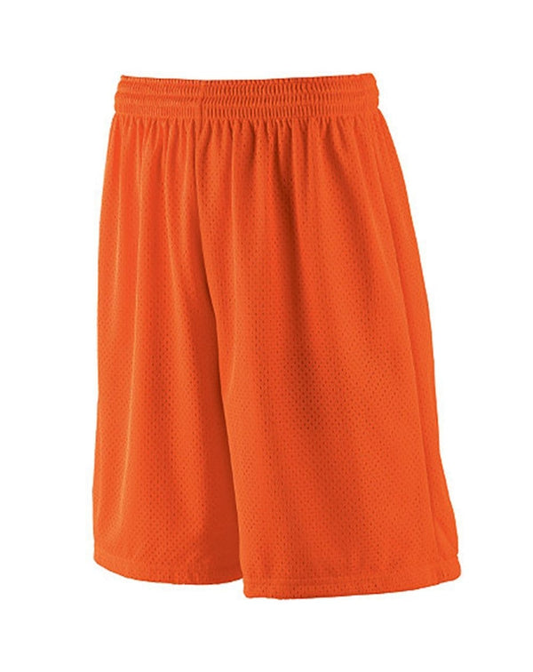 Youth Long Tricot Mesh Shorts/ Tricot Lined-Augusta Sportswear-Pacific Brandwear